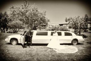 Limusina para bodas