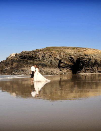 Foto espectacular de boda
