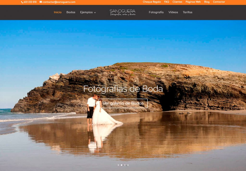 sanoguera.com es nuestra web de bodas y reportaje social
