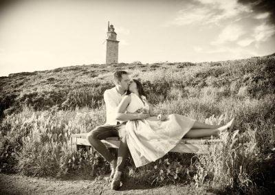 Torre de Hércules, Preboda fotos