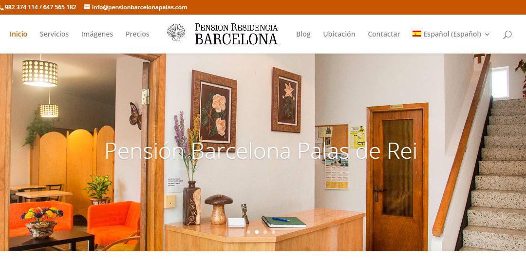 Pensión Barcelona Palas de Rei, Web, Fotos y Proyección youtube