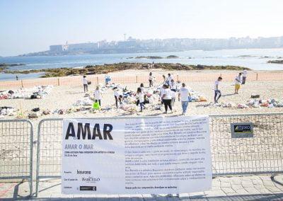 Instalación Artística AMAR OMAR