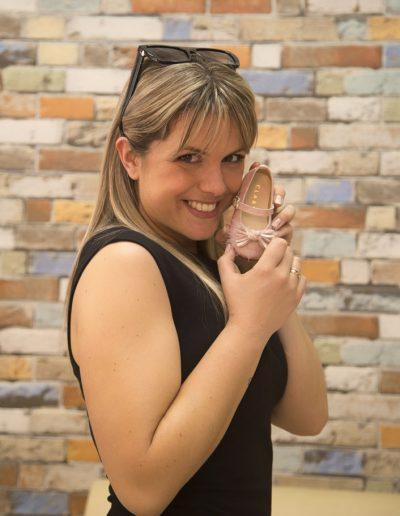 Zapato de Bebé con modelo Eva Iglesias