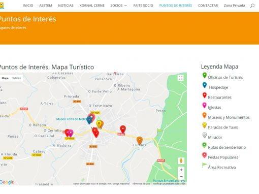 Mapa Interactivo para Asetem