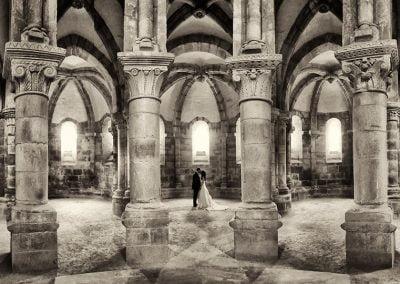 Convento en Galicia, fotos postbodas