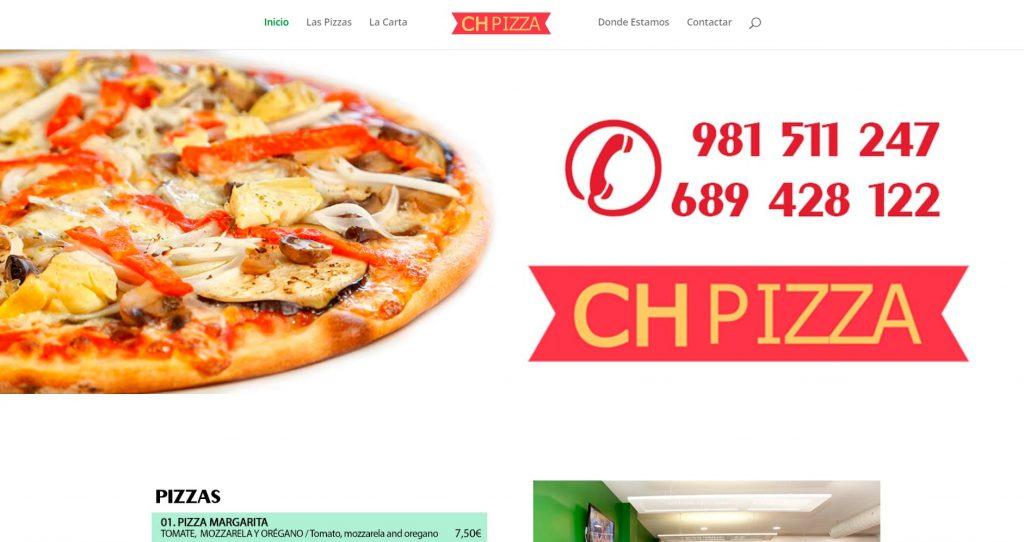 CH Pizza, Pizzeria en Pedrouzo