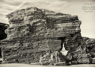 Novios en Roca Gigante