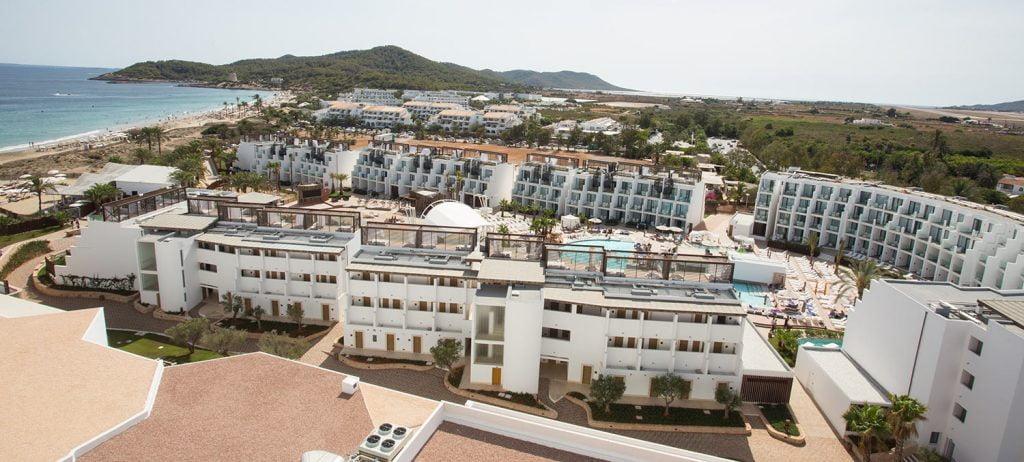 Vista aérea Hard Rock Hotel Ibiza