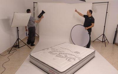 Fotos de Colchones para Catálogo y web