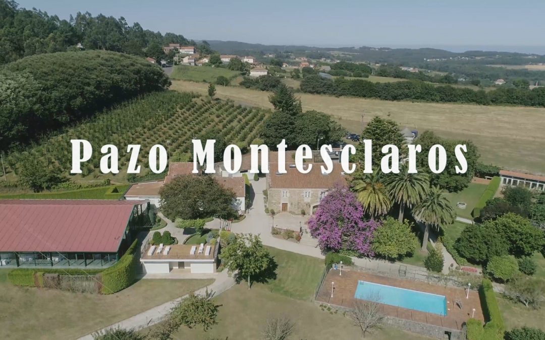 Pazo Montesclaros 🚁 Dron
