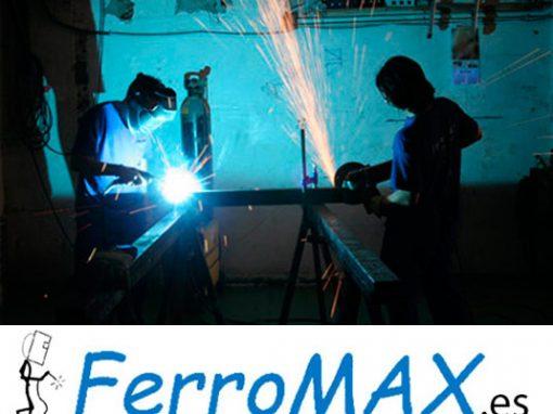 Web Ferromax, Trabajos en Hierro y Acero