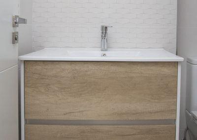 Mueble de Baño en Obra Nueva