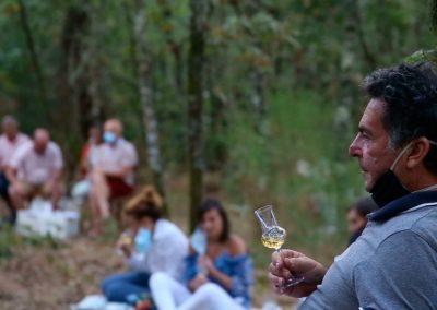 Cata en el bosque, Berán-Leiro