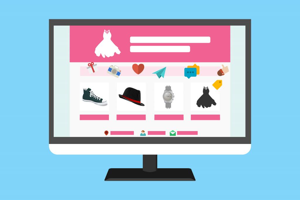 Página web con tienda online
